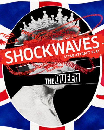 grafiche user generated content - concorso wella shockwave - shockwaves the queen